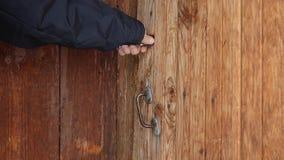 Key Into Lock Macro 2 Sound Stock Video Video Of Turn Access