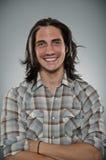 Caucasian Man Blank Expression Profile Portrtait Royalty Free Stock Photo