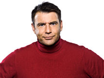 Caucasian man portrait Royalty Free Stock Photo