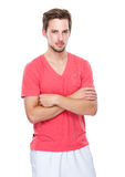 Caucasian Man portrait Stock Photo