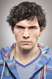 Caucasian Man Scowling Angry Portrtait Royalty Free Stock Image