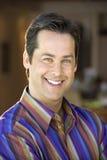 Caucasian man smiling. Royalty Free Stock Photography