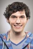 Caucasian Man Smiling Happiness Portrtait Stock Image