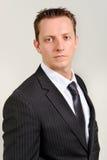 Caucasian man in suit Royalty Free Stock Image