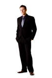 Caucasian man in suit and tie Royalty Free Stock Photography