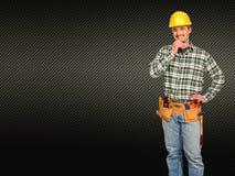 Caucasian man tools Royalty Free Stock Photo