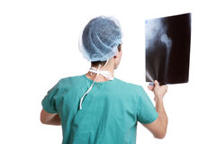 Caucasian mid adult male doctor Stock Images