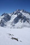 Caucasian mountains Stock Images