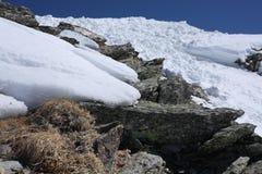 Caucasian mountains Royalty Free Stock Photo