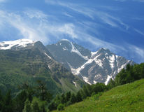Caucasian mountains Royalty Free Stock Photos