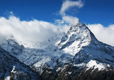 Caucasian mountains Royalty Free Stock Image