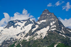 Caucasian mountains Stock Image