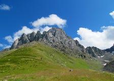 Caucasian mountains Stock Photo
