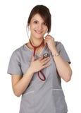 Caucasian nurse Royalty Free Stock Photos