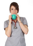 Caucasian nurse Royalty Free Stock Photography
