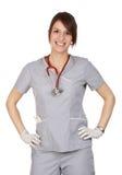 Caucasian nurse Stock Photography