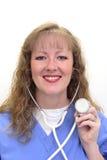 Caucasian Nurse Stock Photo