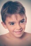 Caucasian pojke royaltyfri foto
