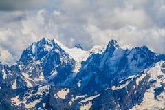 Caucasian ridges Stock Image