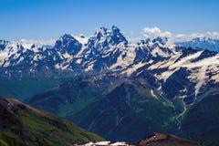 Caucasian ridges Stock Photos