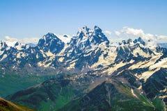 Caucasian ridges Stock Photo
