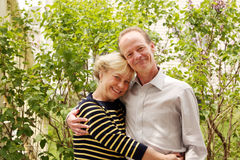 Caucasian senior couple 1 Royalty Free Stock Image