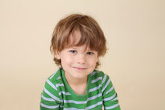 Caucasian Smiling Child, Fashion Royalty Free Stock Photography