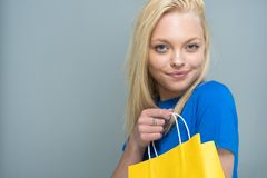 Teen Caucasian Female Model. Caucasian teen girl modeling in a portrait session royalty free stock image