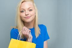 Teen Caucasian Female Model. Caucasian teen girl modeling in a portrait session stock images