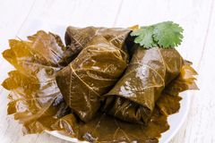 Caucasian traditional dolma Royalty Free Stock Photography