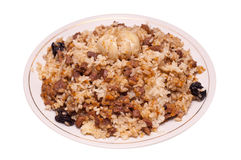 Caucasian traditional pilaf Royalty Free Stock Image