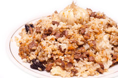 Caucasian traditional pilaf Stock Photography
