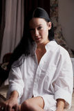 Caucasian woman Stock Photos