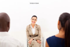 Employment interview Royalty Free Stock Photo