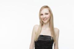 Caucasian woman smiling Stock Photography