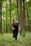 Caucasian woman training Royalty Free Stock Photos