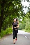 Caucasian woman training Stock Photo