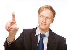 Caucasian young businessman. Stock Image