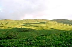 Caucaso, alba. Fotografia Stock