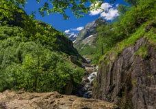 Caucaso, Dombay, ` del mulino del ` s del diavolo del ` Immagine Stock Libera da Diritti