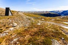 caucasus заволакивает ushba неба гор горы ландшафта shurovky Норвежская сценарная трасса Aurlandsfjellet стоковое фото rf