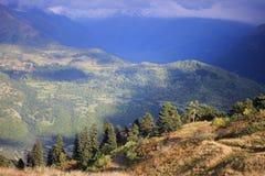 Caucasus autumn in Georgia Stock Images