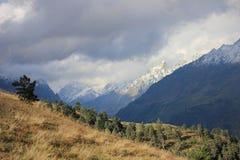 Caucasus autumn in Georgia Royalty Free Stock Image