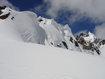 caucasus berg arkivfoto