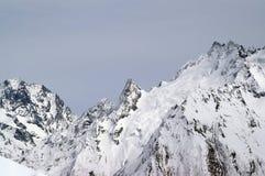 caucasus berg arkivfoton