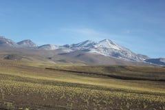 caucasus clouds ushba för sky för liggandebergberg shurovky Royaltyfri Foto