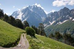 caucasus dombai góry Zdjęcie Stock