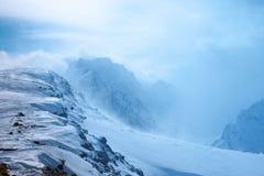 caucasus Dombay красивейшие горы Стоковое Изображение