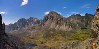 caucasus dombay halni gór szczyty Obrazy Stock