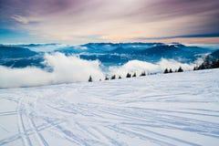 caucasus dombay regionu narty skłon Fotografia Stock